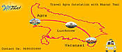 Taxi service from Agra to Bandikui Agra